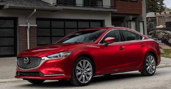 Xem trước mẫu xe Mazda 6 phiên bản nâng cấp sắp được phân phối tại Việt Nam