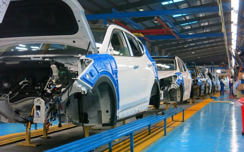 Nhà máy sản xuất ô tô Hyundai Ninh Bình tạm dừng sản xuất từ 1/4