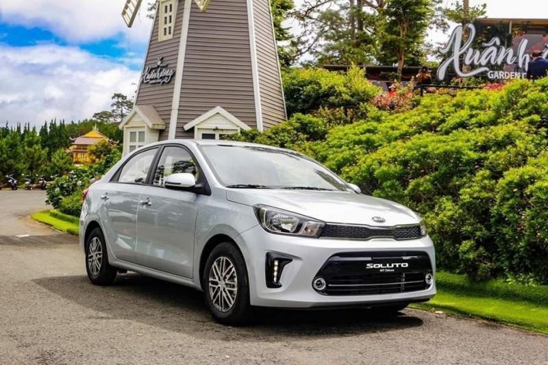 Cạnh tranh Toyota Vios, Kia Soluto bổ sung thêm phiên bản mới