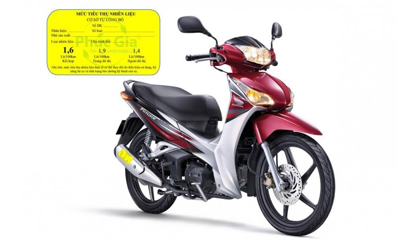 Xe máy phải dán nhãn công khai mức tiêu hao nhiên liệu