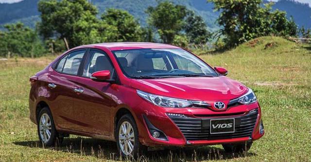 Tổng hợp giá bán các mẫu xe ô tô Toyota tại Việt Nam tháng 6/2020