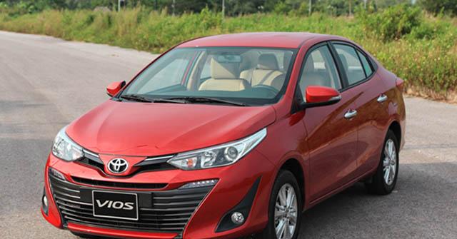 Bảng giá xe Toyota Vios lăn bánh mới nhất tháng 11/2020