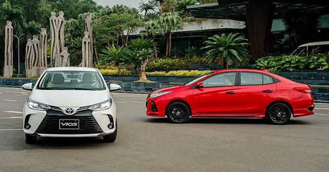 Toyota Vios 2021 vừa ra mắt đã được giảm giá tiền mặt cả chục triệu đồng