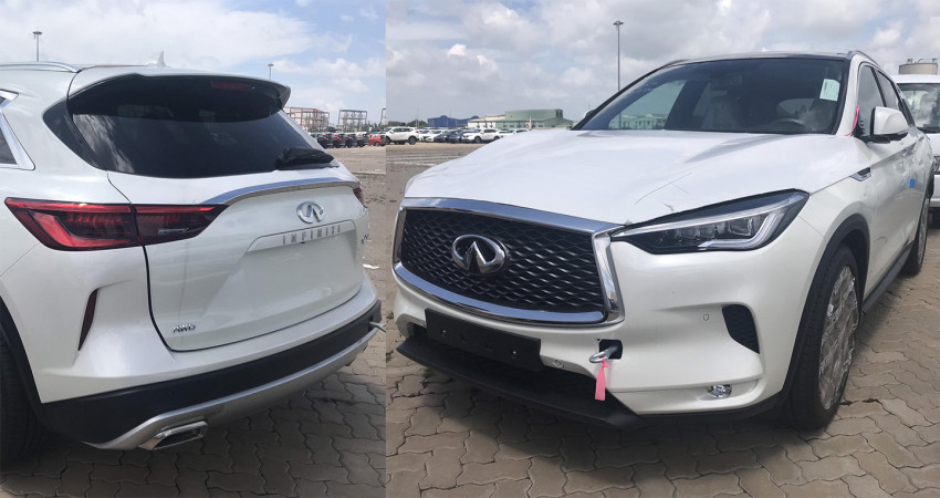 Infiniti QX50 2019 về Việt Nam giá dự kiến 2,45 tỷ, đấu Mercedes GLC