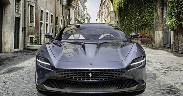 Siêu phẩm Ferrari Roma nhận giải thưởng xe đẹp nhất của năm 2020