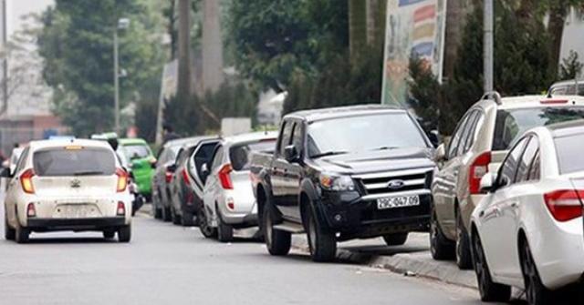 Quy chuẩn mới, tài xế ô tô cần nhớ khi đậu xe vỉa hè