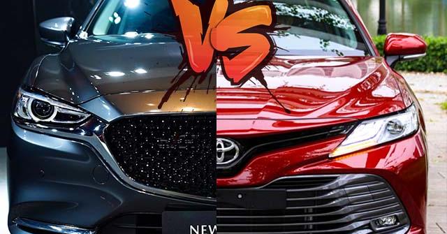 So sánh Toyota Camry và Mazda 6, chênh nhau 180 triệu đồng liệu có phải là điểm nhấn