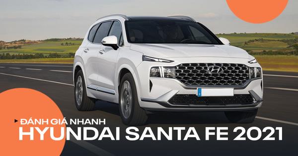 Đánh giá nhanh Hyundai Santa Fe 2021 sẽ về Việt Nam: Thay đổi toàn diện, nhiều