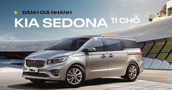 Đánh giá nhanh Kia Sedona 11 chỗ do THACO xuất khẩu: Đánh đổi thoải mái lấy thực dụng