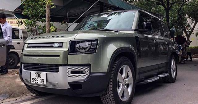 Land Rover Defender thế hệ mới đeo biển số khủng tứ quý 9 tại Hà Nội