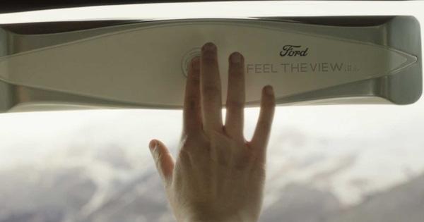 Người mù có thể nhìn đường khi ngồi trên xe Ford