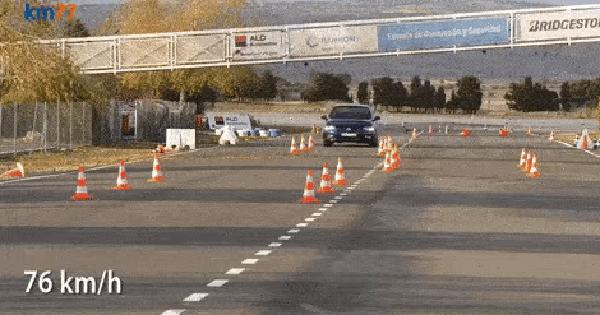 Đối thủ Toyota Camry - Volkswagen Passat chật vật trong bài thử đánh lái gấp
