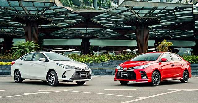 Giá xe Toyota Vios lăn bánh tháng 3/2021