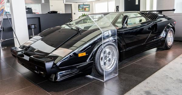 Siêu xe Lamborghini Countach phiên bản đặc biệt