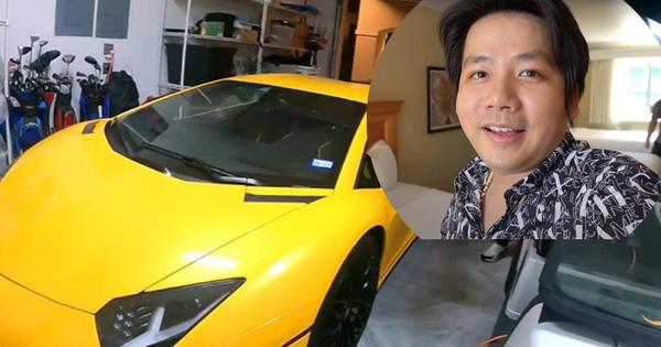 Chán Toyota Camry, Khoa Pug mượn Lamborghini Aventador SV của Johnny Đặng để