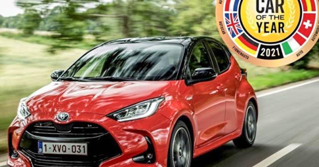 Toyota Yaris đạt giải thưởng Xe của năm 2021 tại châu Âu