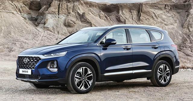 Giá xe Hyundai SantaFe lăn bánh đầy đủ các phiên bản tháng 7/2020