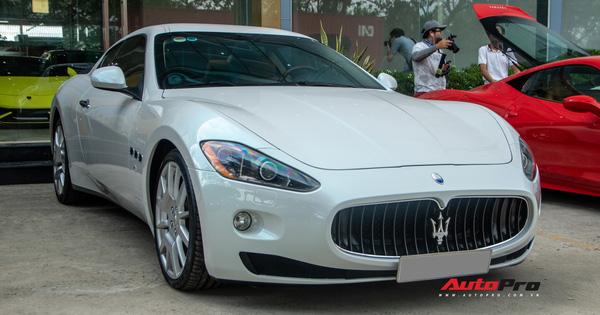 """Kỳ công nửa tháng """"đổi màu"""" Maserati GranTurismo với màu sơn tán sắc lấy cảm hứng từ hypercar Aston Martin Valhalla"""