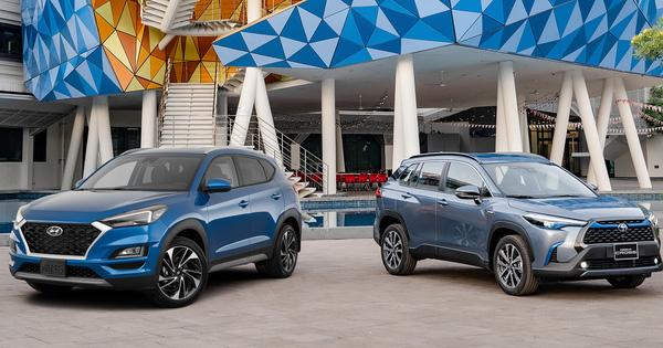So kè an toàn Toyota Corolla Cross với Hyundai Tucson: Tân binh