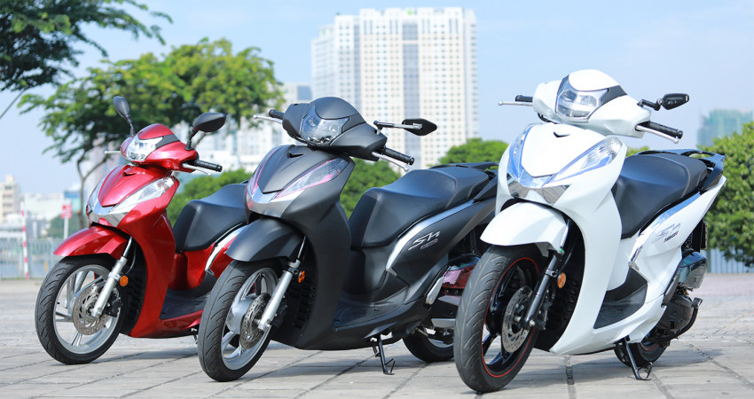 """Với 12 triệu đồng, Honda SH 125/150i được """"hô biến"""" thành SH 300i"""