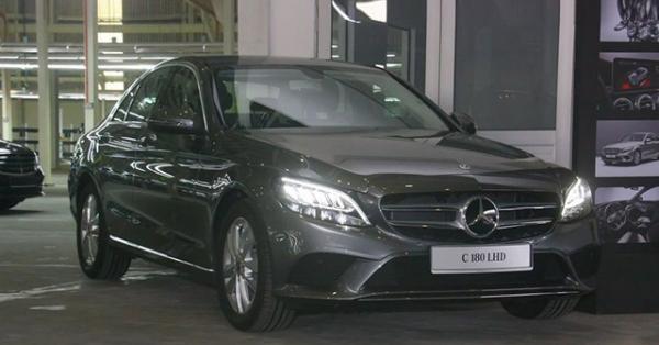 Mercedes-Benz C180 sắp ra mắt thị trường Việt Nam, giá bán dự kiến 1,3 tỷ đồng