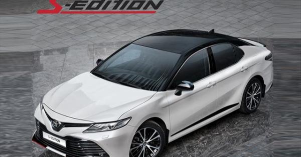 Toyota Camry phiên bản thể thao S-Edition, giá từ 778 triệu đồng