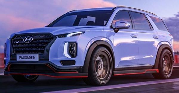 """Hyundai """"nhá hàng"""" phiên bản hiệu năng cao của dòng xe SUV Palisade"""