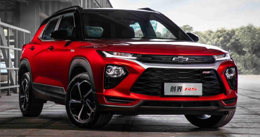 Chevrolet Trailblazer 2020 ra mắt với động cơ 1.3L tăng áp