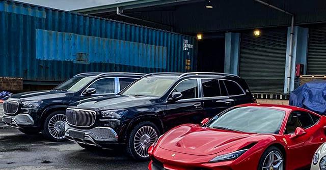 Thêm cặp xe SUV sang Mercedes-Maybach GLS 600 về Việt Nam ăn Tết