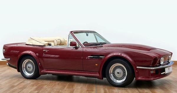 Chiếc Aston Martin V8 Volante của David Beckham được rao bán có gì đặc biệt?