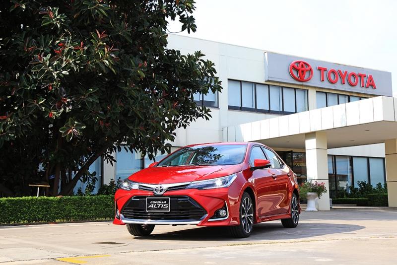Giá lăn bánh Toyota Corolla Altis 2021