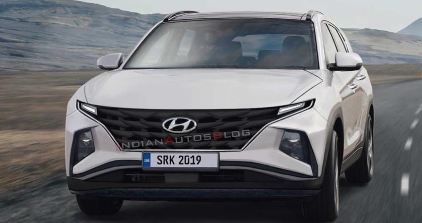 Xem trước thiết kế ngoại thất của Hyundai Tucson 2020