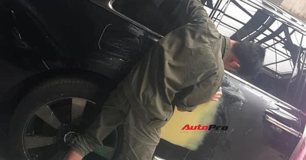 Rolls-Royce Cullinan đầu tiên tại Việt Nam gặp nạn nhưng cách sửa xe mới khiến nhiều người giật mình