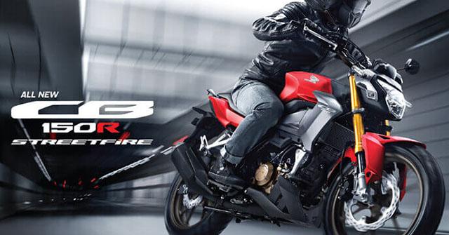 Honda CB150R StreetFire 2021 trình làng: Giá từ 46 triệu đồng