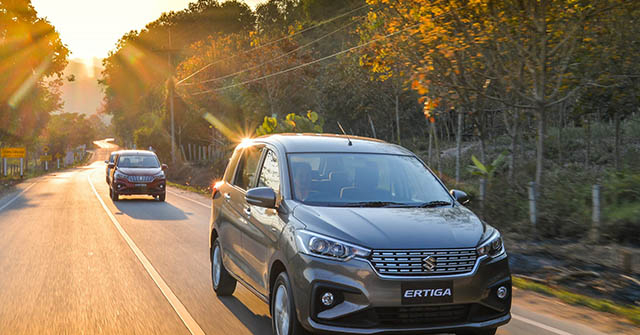 Giá xe Suzuki Ertiga lăn bánh tháng 12/2020, tặng BHVC 25 triệu đồng