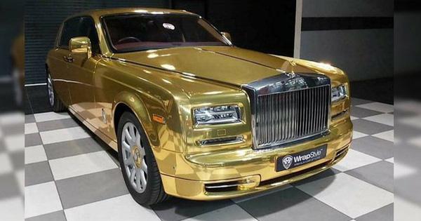 Đại gia mua Rolls-Royce Phantom về làm... taxi, diện hẳn bộ cánh