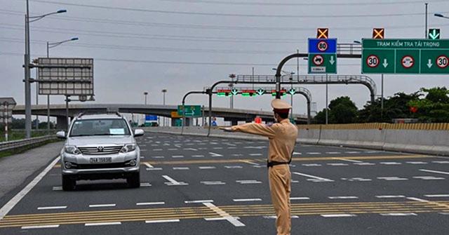 Tổng kiểm soát phương tiện giao thông cả nước trong 30 ngày