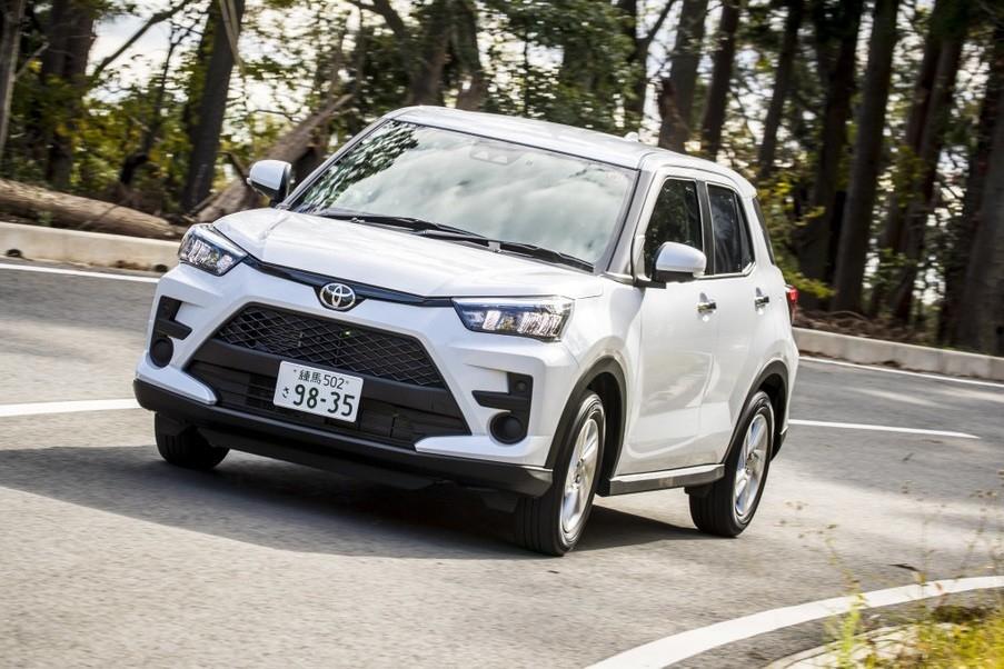 Toyota Raize 2021 sắp ra mắt thị trường Đông Nam Á