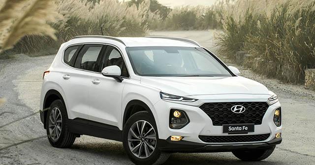 Hyundai Santa Fe được ưu đãi tới 150 triệu đồng tại một số đại lý