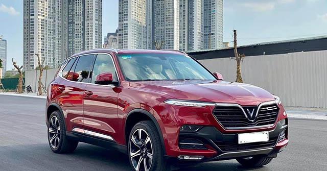 Giá xe VinFast Lux SA2.0 lăn bánh tháng 6/2021