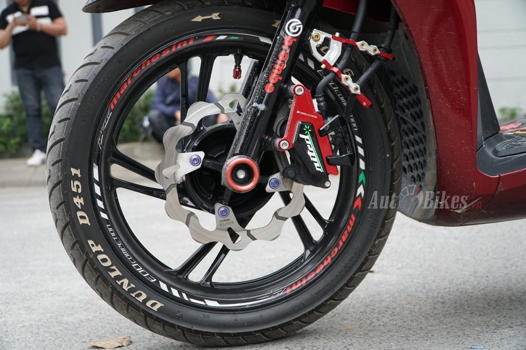 4 loại lốp tốt nhất dành cho Honda SH 2017