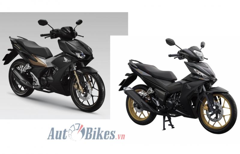 So sánh Honda Winner X và Honda Winner 2018