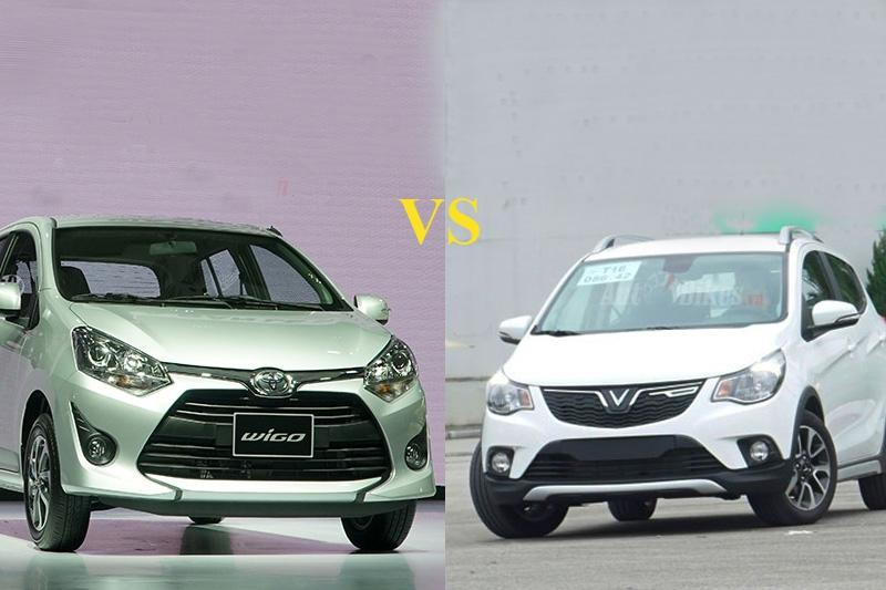 Có 400 triệu đồng, chọn Toyota Wigo hay VinFast Fadil?