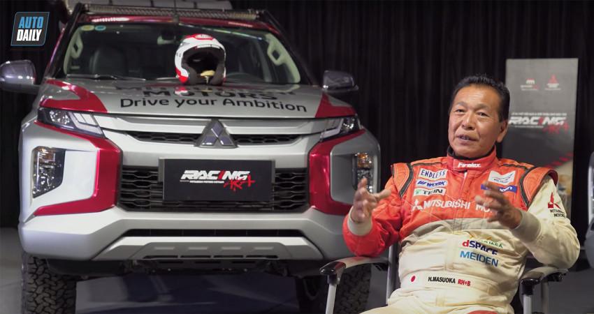 Nhà vô địch Dakar Rally - Hiroshi Masuoka chia sẻ BÍ KÍP trở thành tay đua chuyên nghiệp