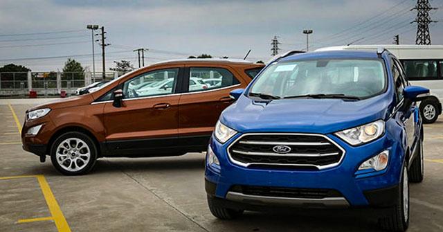 Giá lăn bánh Ford Ecosport 2020, mới nhất tháng 9/2020