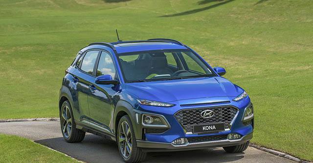 Giá xe Hyundai Kona lăn bánh tháng 01/2021