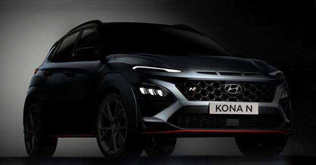 Hyundai nhá hàng Kona N 2022, thiết kế đậm chất thể thao và cá tính