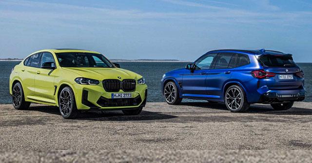 BMW trình làng bộ đôi xe SUV X3 và X4 bản nâng cấp giữa dòng đời