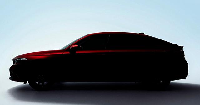 Civic bản Hatchback thế hệ mới được Honda nhá hình ảnh đầu tiên
