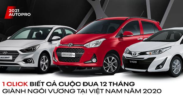 Xe bán chạy tại Việt Nam thay đổi thế nào trong cả năm 2020: Vios bứt tốc, Fadil và xe Hàn xứng đáng là ngựa ô